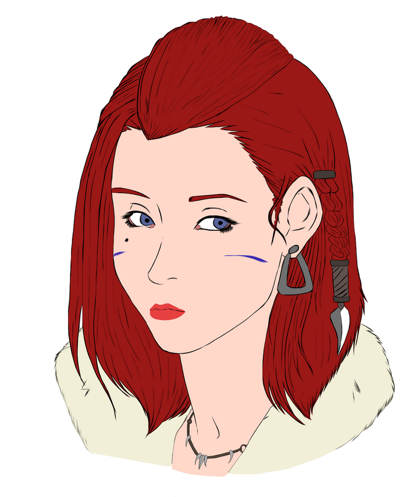 Elsa . by blacktool33