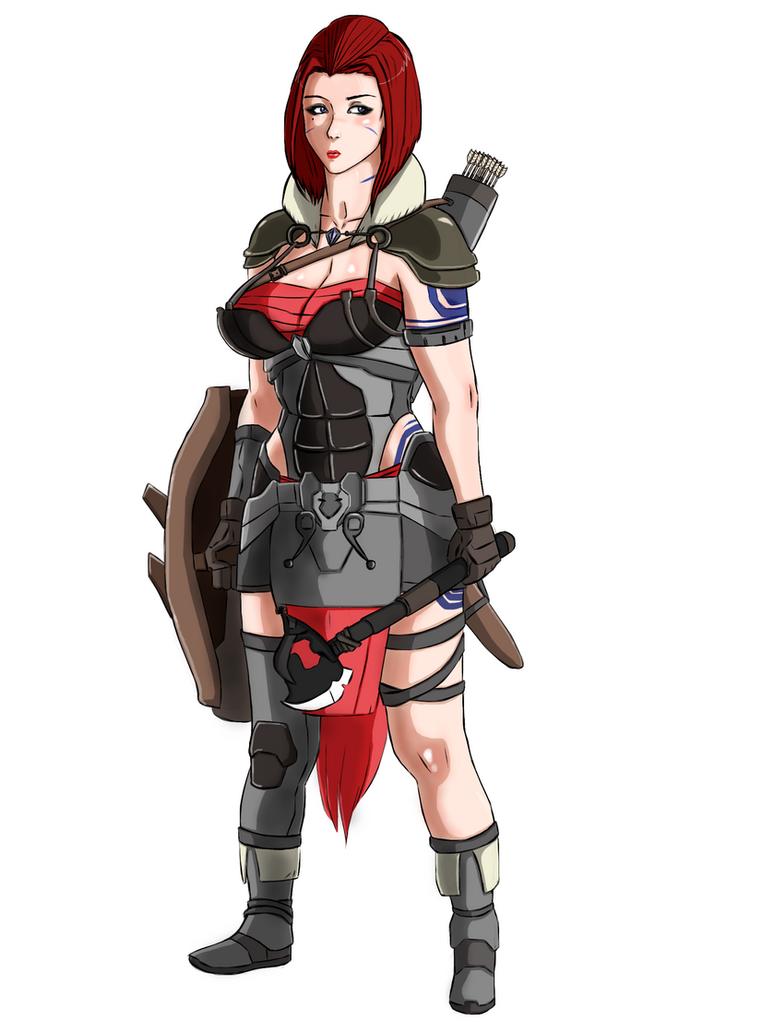 Elsa Armor. by blacktool33