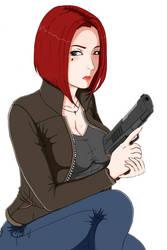 Elsa (With A Gun)... by blacktool33