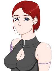 Anime Elsa by blacktool33