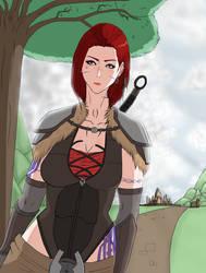 Elsa (Travling) 4 by blacktool33