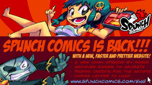 Spunch Comics is back!! by spunchcomics