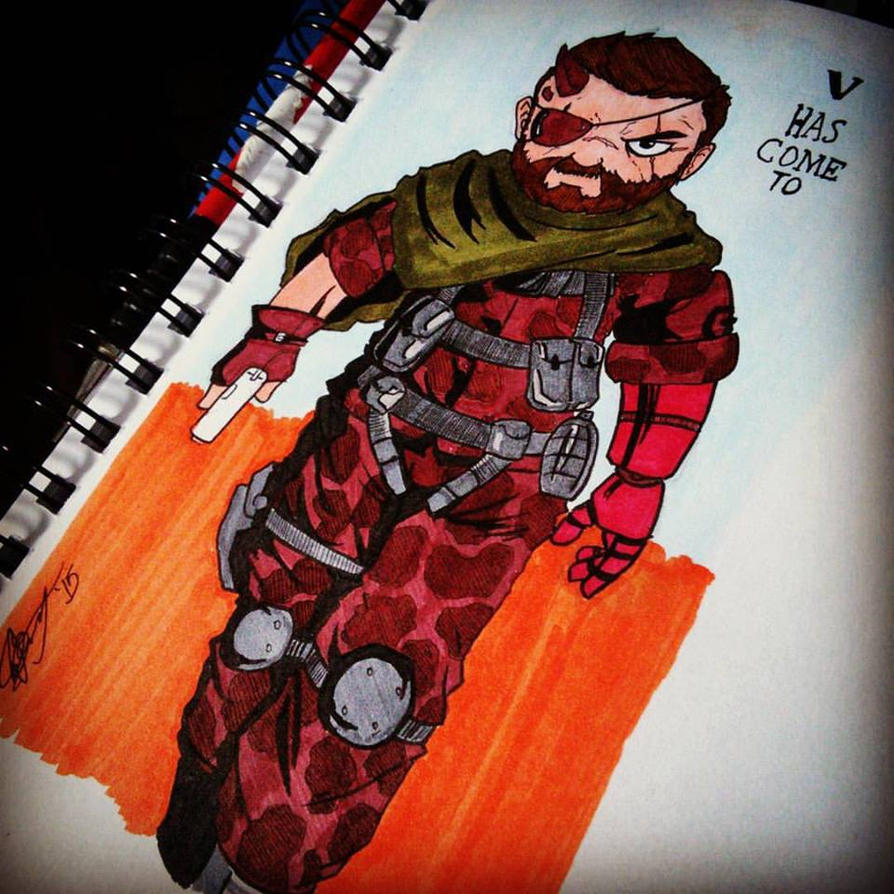 Venom Snake by FactionFighter