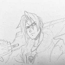 Squall Freakin' Leonhart by FactionFighter