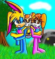Hoppy Easter by Birdhousebirdy