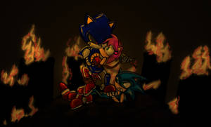 Metal Sonic Wins This Round by Birdhousebirdy