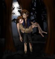 Hide n' Seek-Gravity Falls Fanart by Birdhousebirdy