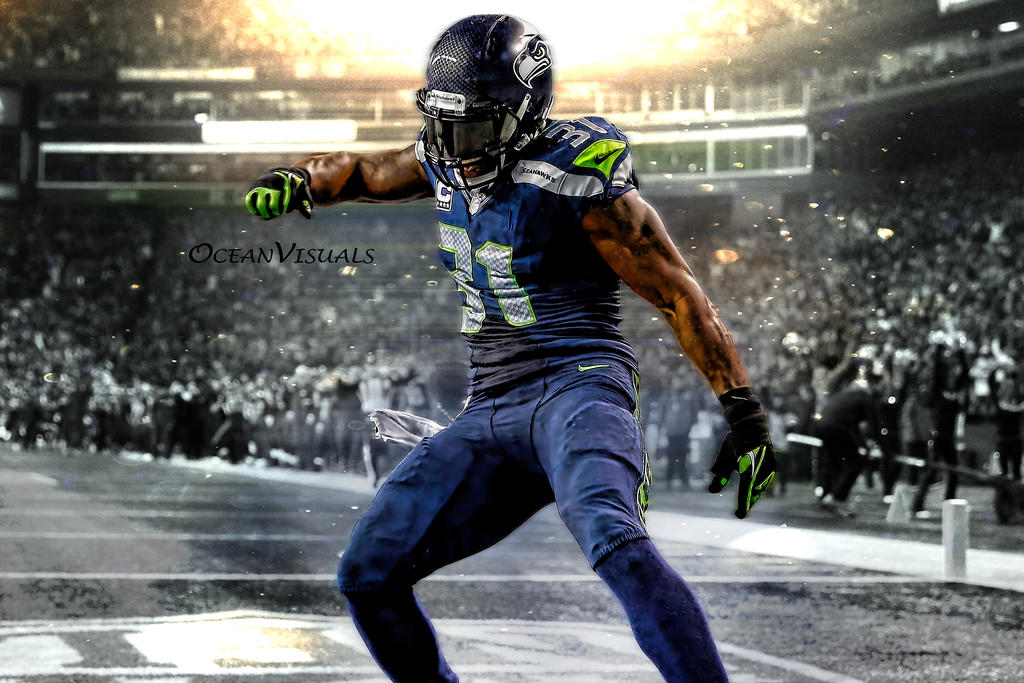 Kam Chancellor Wallpapers: Kam Chancellor 2.0 By OceanVisuals On DeviantArt