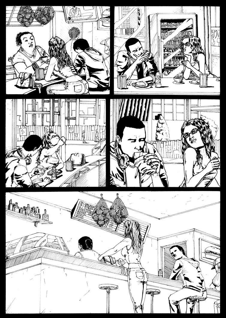 Cavaleiro da Luz #6 page 3 by LeandroCrudi