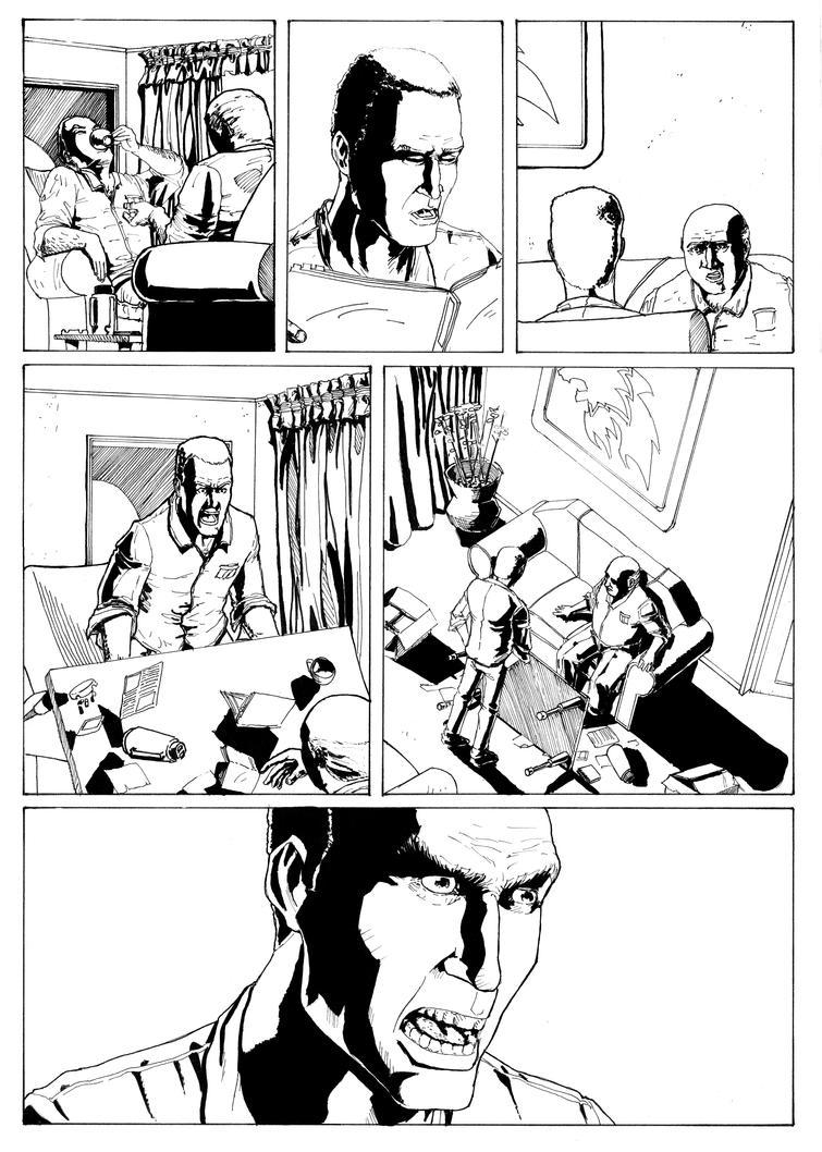 Cavaleiro da Luz #6 page 5 by LeandroCrudi