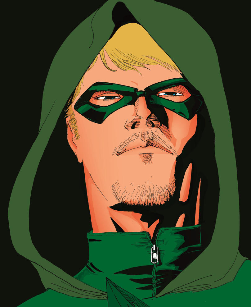 Green Arrow by LeandroCrudi