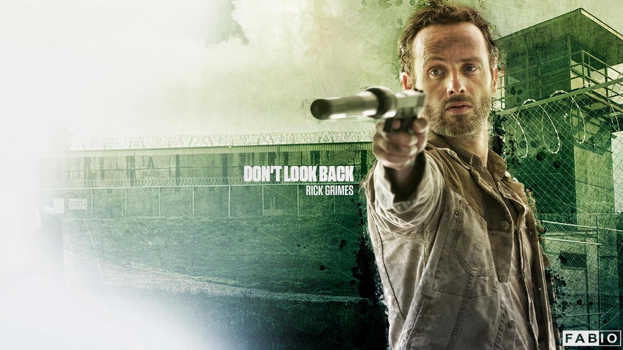 The Walking Dead Wallpaper Rick Grimes By Fabioandre18 On Deviantart