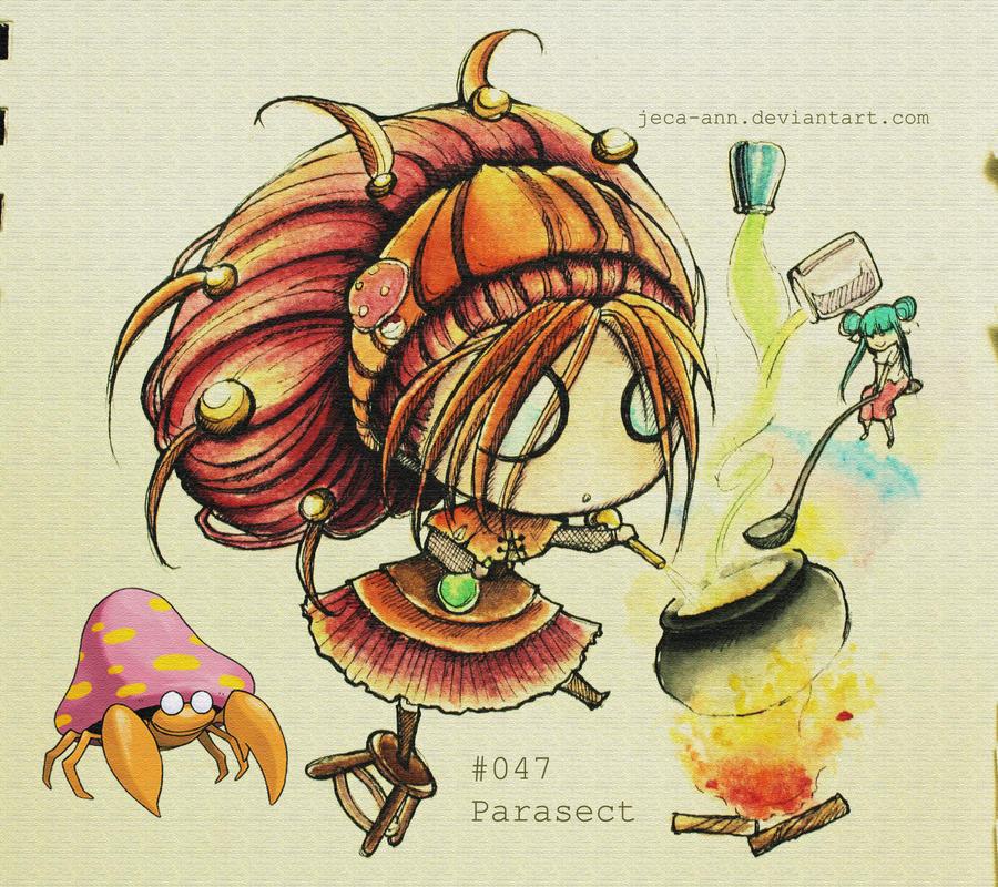PARASECT: Cassandra's Parasect by jejejeca
