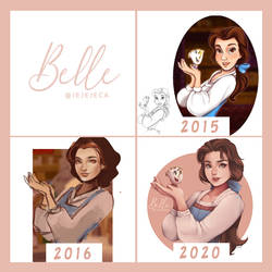 Belle (Trough the years)