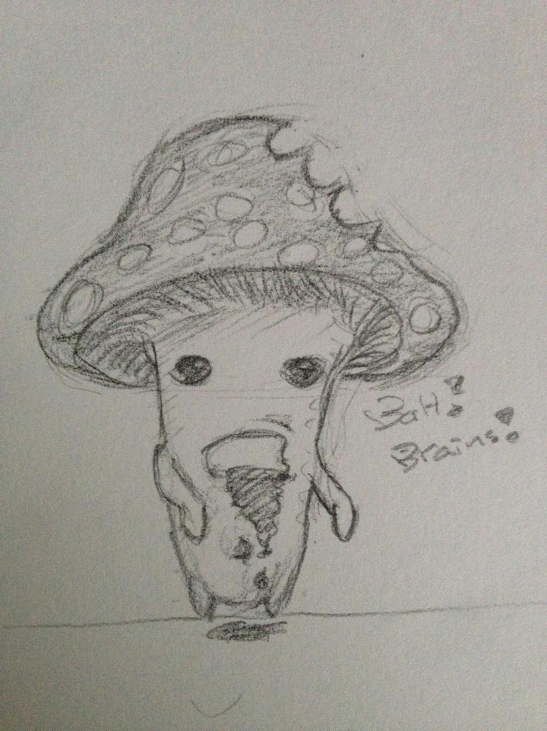 horrifying zombie by shimoshao
