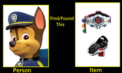 What if Chase (PAW Patrol) found the DD and SB?