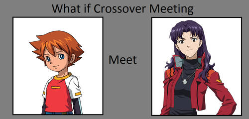 (REQUEST) What if Chris met Misato?