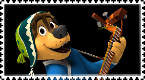 Bodi (Rock Dog) stamp by FlainYesFourzeNo