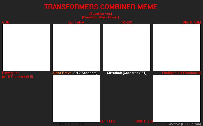 TF Combiner meme (CW Superion) (F2U) by FlainYesFourzeNo