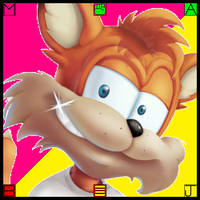 (F2U JUMBO ICON) Bubsy (Burger-Action)