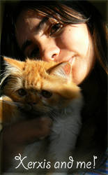 My cat and me by laurasardinha