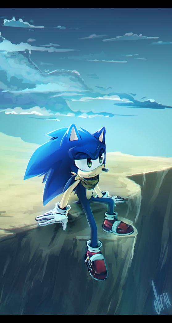 Sonic Boom by eliacube