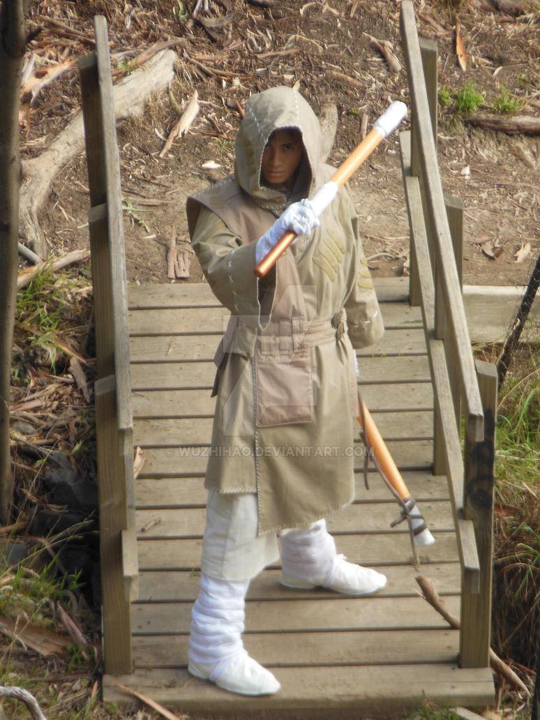 SandStorm Monk's gun Staff splits by wuzhihao