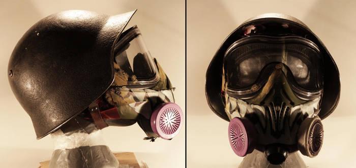 Helmet and gas mask - Generation Zero