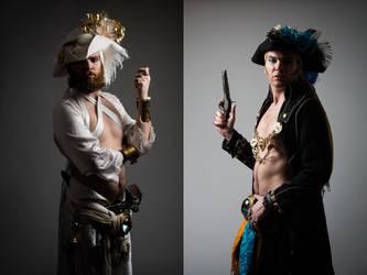 Pirate costume comparison