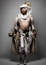 LARP Pirate - White costume by NeonCowboy