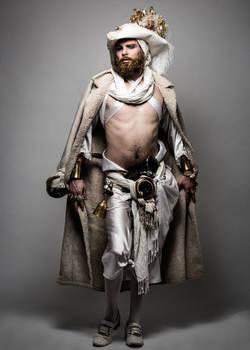 LARP Pirate - White costume