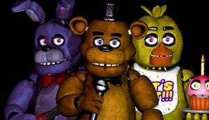 Bonnie, Chica And Freddy