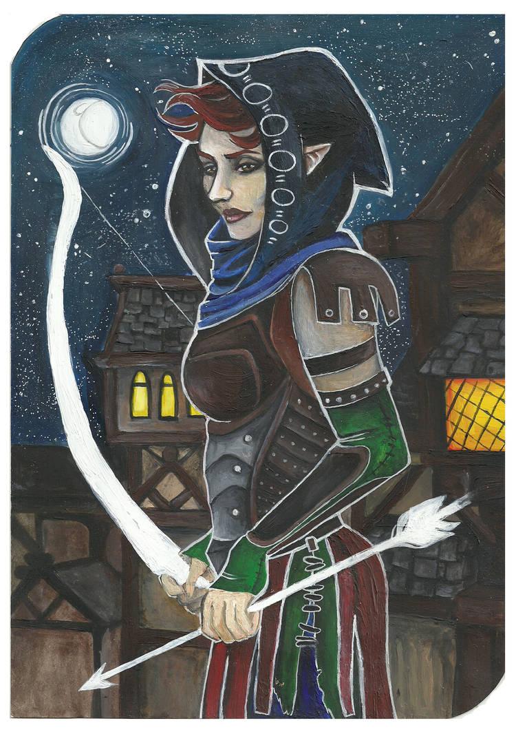 elven archer by ZuniHorrendus