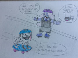 Two extreme skaters by tanasweet123