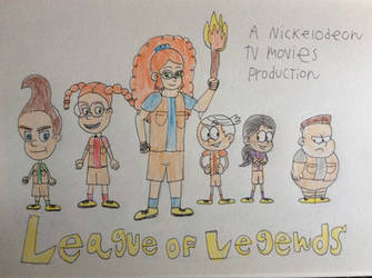Nicktoons league of legends by tanasweet123