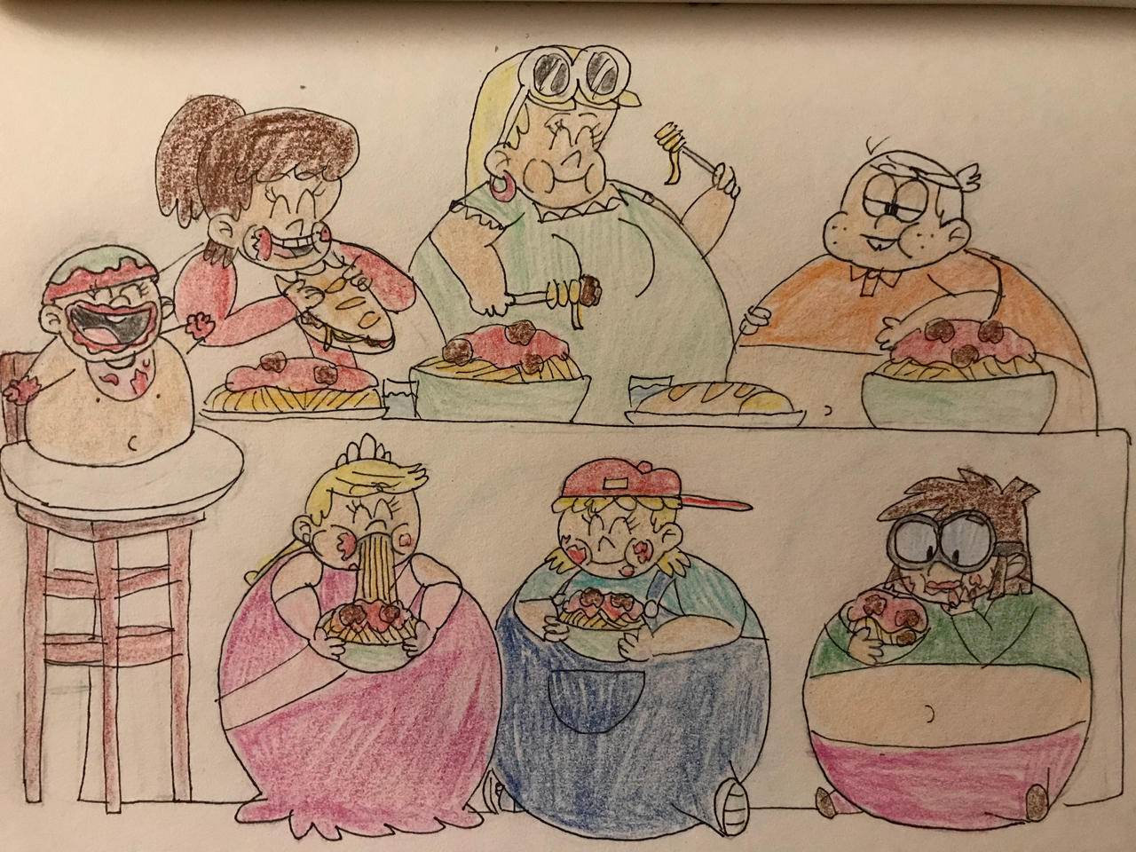 I Hope They Eat Tons Of Spaghetti 2 By Tanasweet123 On Deviantart