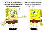 True spongebob and the imposter
