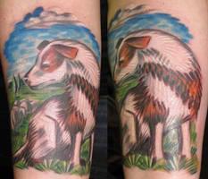 Collie Tattoo by OsaWahn