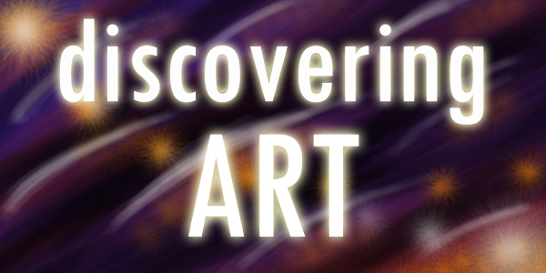 Discovering Art logo by OsaWahn