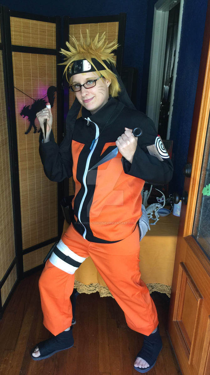 Naruto cosplay by Goddess-Suicune