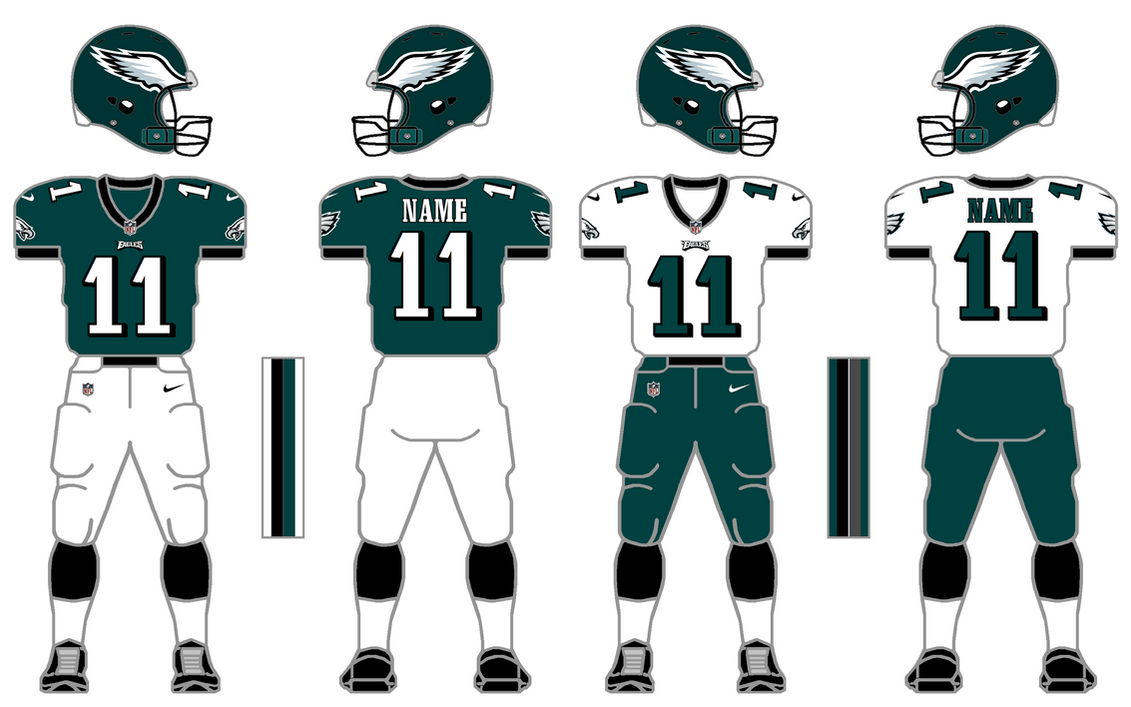Nike elite 51 eagles uniform tweak by simplymoono