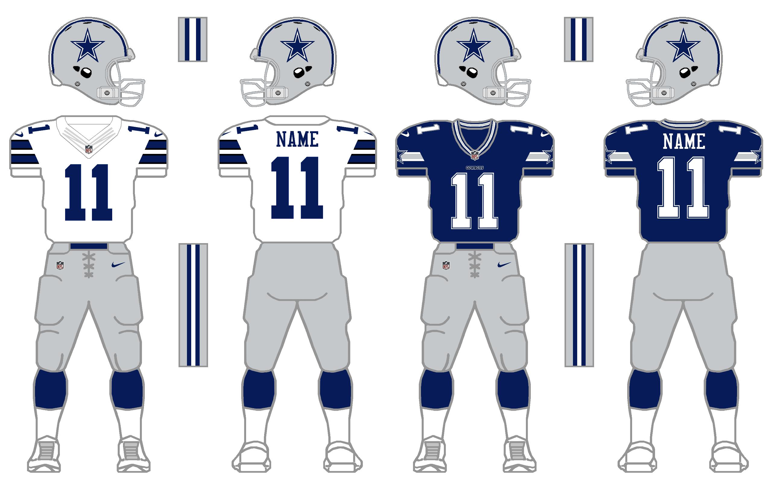Nike Elite 51 Cowboys Uniform Tweak By Simplymoono On