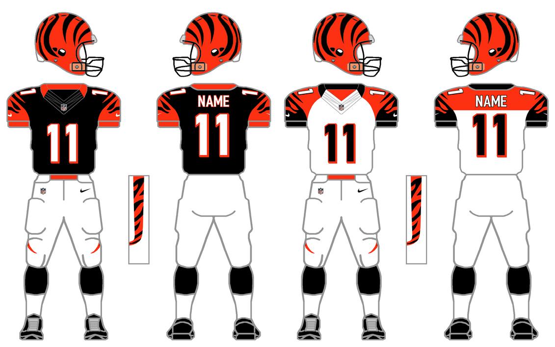 Nike Elite 51 Bengals Uniform Tweak by SimplyMoono on ...