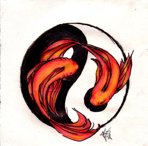 Pisces ying yang by mnemosa on deviantart pisces ying yang by mnemosa sciox Gallery