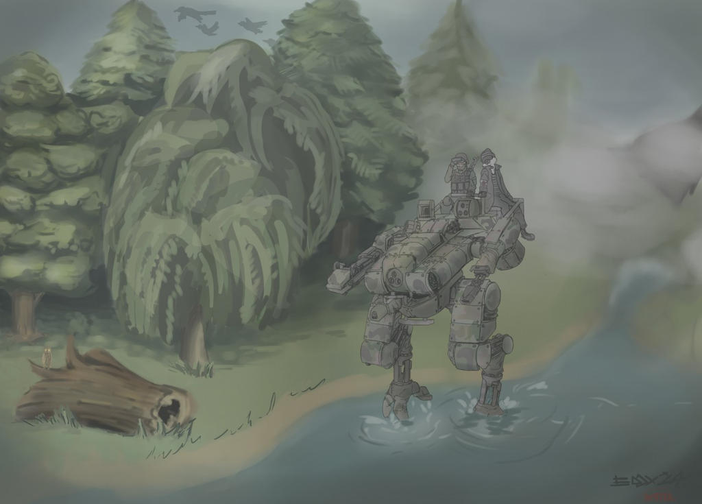 Vernon's mech by andtheSixtyfirst