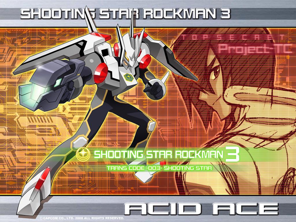 MegaMan Starforce3 - Acid Ace by SanguineDemon