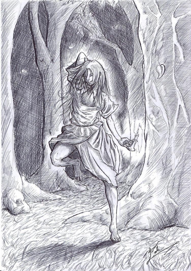 Ilustracion de un cuento by celucrator