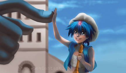 Aladdin - Magi: The Labyrinth of Magic by bAkiKA