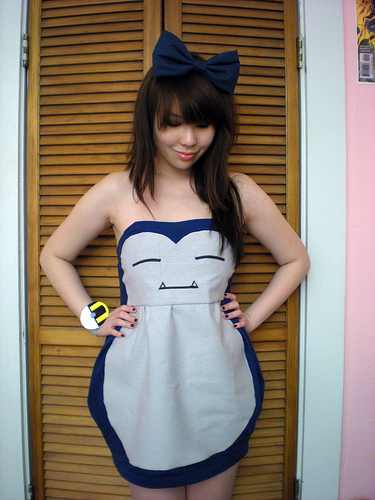 Snorlax dress by bethanyagogo