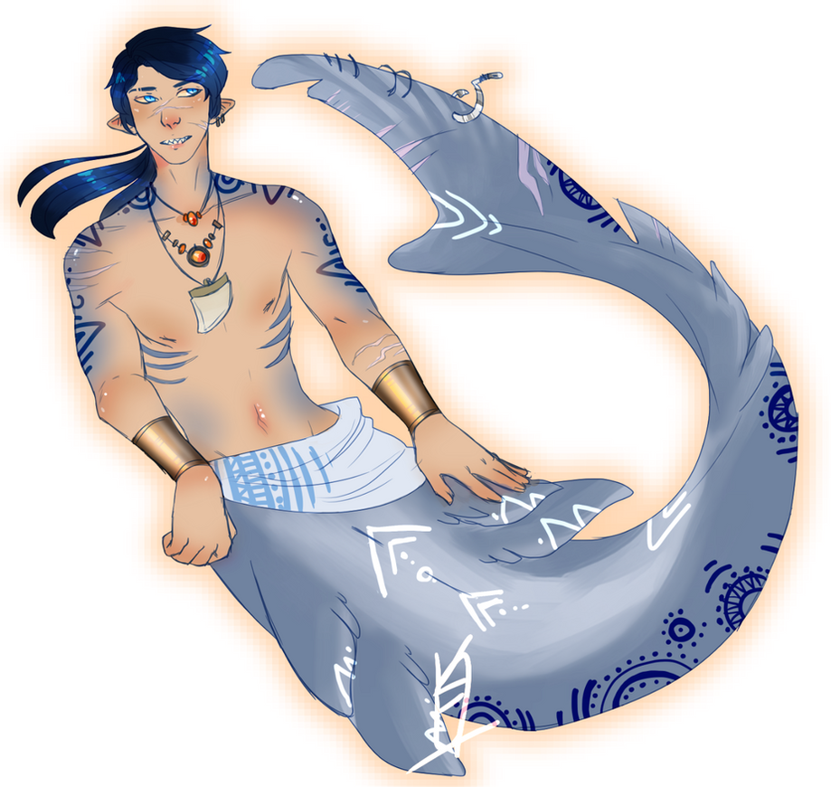 MERMAY/ day 9- Shark // SOLD by Niuwna